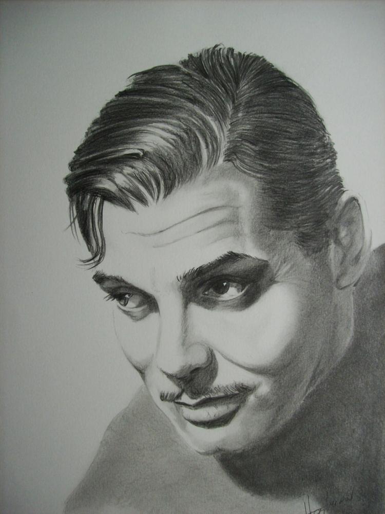 Clark Gable by Tom-Heyburn